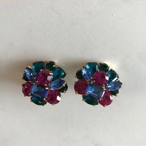 Kate Spade Gem Cluster Earrings